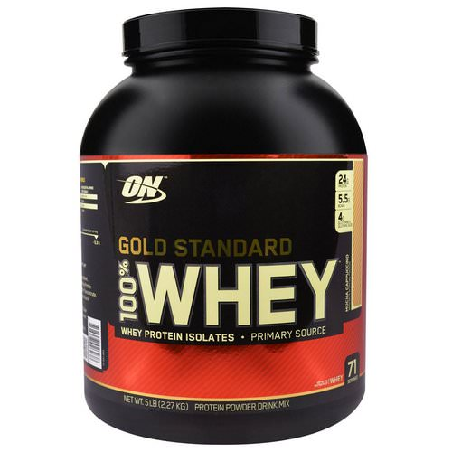 Optimum Nutrition, Gold Standard, 100% Whey, Mocha Cappuccino, 5 lbs (2.27 kg) Review