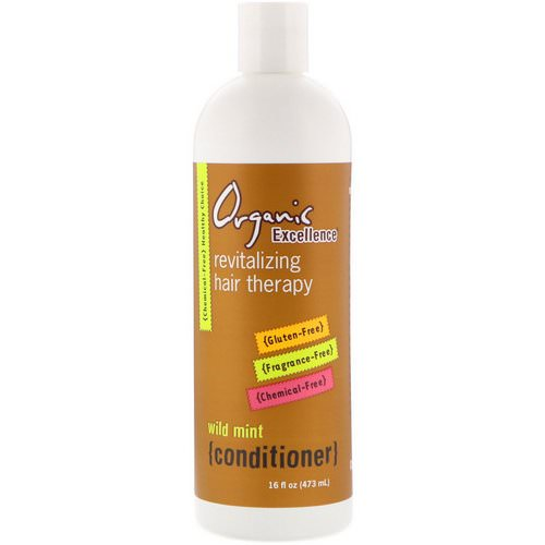 Organic Excellence, Conditioner, Revitalizing Hair Therapy, Wild Mint, 16 fl oz (473 ml) Review