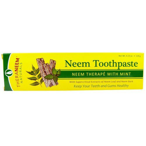 Organix South, TheraNeem Naturals, Neem Therape with Mint, Neem Toothpaste, 4.23 oz (120 g) Review