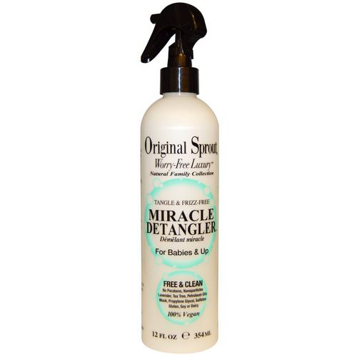 Original Sprout, Miracle Detangler, For Babies & Up, 12 fl oz (354 ml) Review