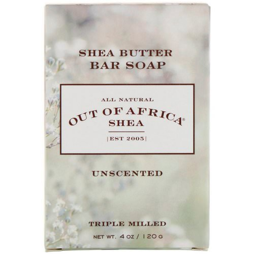 Out of Africa, Shea Butter Bar Soap, Unscented, 4 oz (120 g) Review