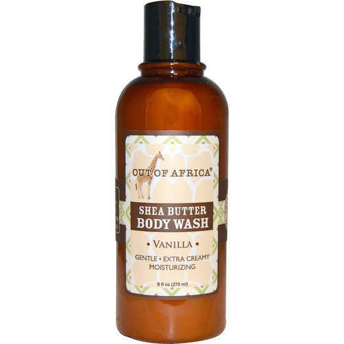 Out of Africa, Shea Butter Body Wash, Vanilla, 9 fl oz (270 ml) Review