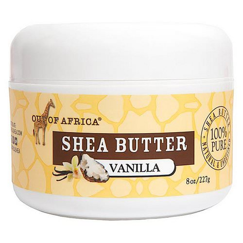 Out of Africa, Raw Shea Butter, Vanilla, 8 oz (227 g) Review