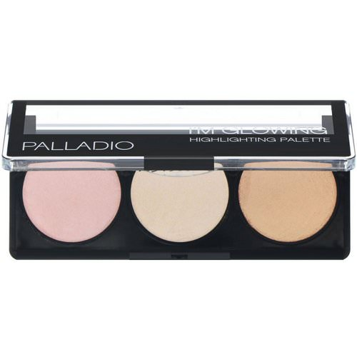 Palladio, I'm Glowing Highlighting Palette, 0.15 oz (4.5 g) Review