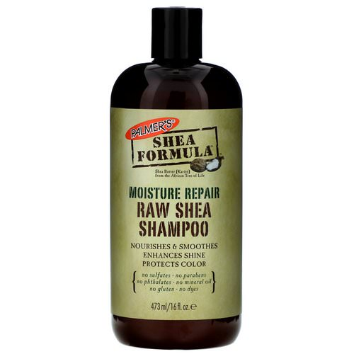 Palmer's, Shea Formula, RAW Shea Shampoo, Moisture Repair, 16 fl oz (473 ml) Review