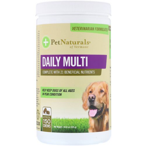 Pet Naturals of Vermont, Daily Multi, For Dogs, 18.52 oz (525 g) Review