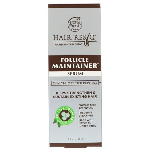 Petal Fresh, Hair ResQ, Thickening Treatment, Follicle Maintainer Serum, 2 fl oz (60 ml) Review