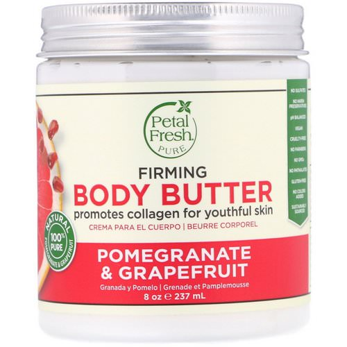 Petal Fresh, Pure, Body Butter, Firming, Pomegranate & Grapefruit, 8 oz (237 ml) Review