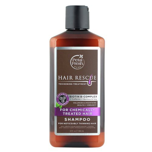Petal Fresh, Pure, Hair Rescue, Thickening Treatment Shampoo, for Chemically Treated Hair, 12 fl oz (355 ml) Review