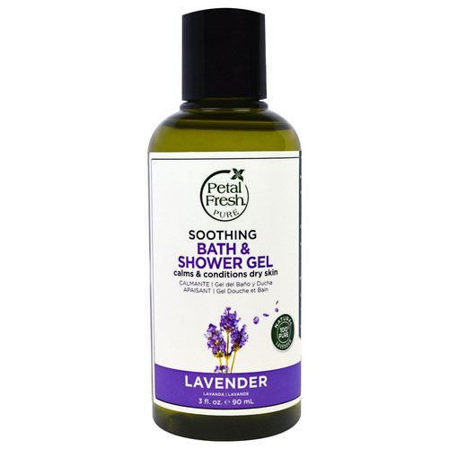 Petal Fresh, Pure, Soothing Bath & Shower Gel, Lavender, 3 fl oz (90 ml) Review