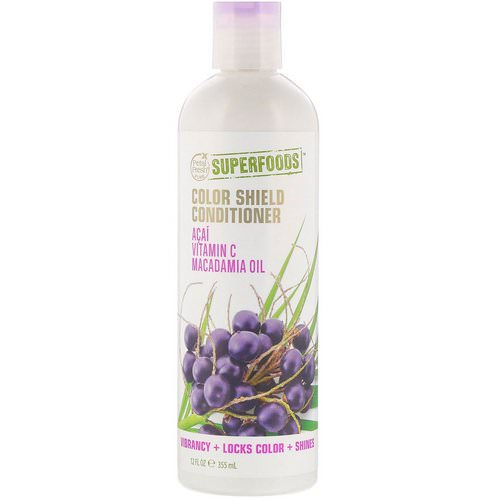 Petal Fresh, Pure, SuperFoods For Hair, Color Shield Conditioner, Acai, Vitamin C & Macadamia Oil, 12 fl oz (355 ml) Review