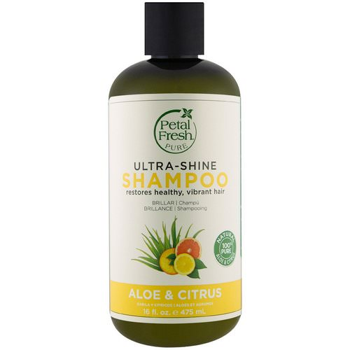 Petal Fresh, Pure, Ultra-Shine Shampoo, Aloe and Citrus, 16 fl oz (475 ml) Review