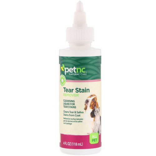 petnc NATURAL CARE, Tear Stain Remover, All Pet, 4 fl oz (118 ml) Review