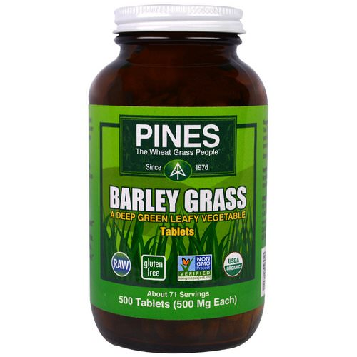 Pines International, Barley Grass, 500 Tablets Review