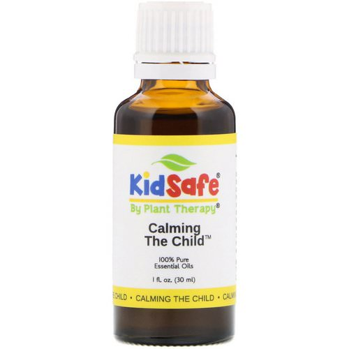 Plant Therapy, KidSafe, 100% Pure Essential Oils, Calming the Child, 1 fl oz (30 ml) Review