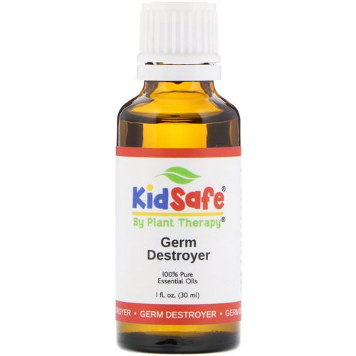 Plant Therapy, KidSafe, 100% Pure Essential Oils, Germ Destroyer, 1 fl oz (30 ml) Review