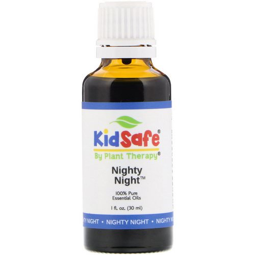 Plant Therapy, KidSafe, 100% Pure Essential Oils, Nighty Night, 1 fl oz (30 ml) Review