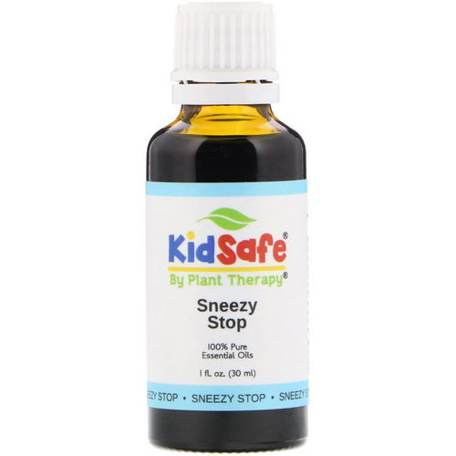 Plant Therapy, KidSafe, 100% Pure Essential Oils, Sneezy Stop, 1 fl oz (30 ml) Review