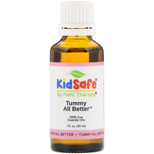 Plant Therapy, KidSafe, 100% Pure Essential Oils, Tummy All Better, 1 fl oz (30 ml) Review