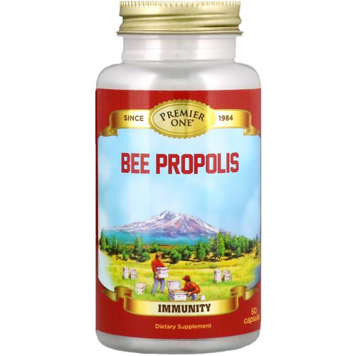 Premier One, Bee Propolis, 60 Capsules Review