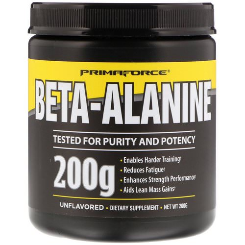 Primaforce, Beta-Alanine, Unflavored, 200 g Review