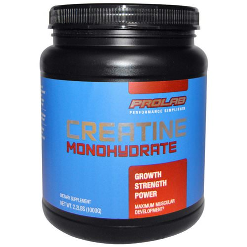 ProLab, Creatine Monohydrate, 2.2 lbs (1000 g) Review