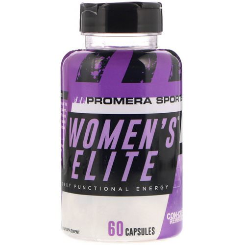 Promera Sports, Women's Elite, Daily Functional Energy, 60 Capsules Review