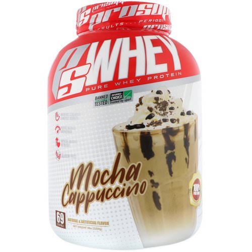 ProSupps, PS Whey, Mocha Cappuccino, 5 lbs (2268 g) Review