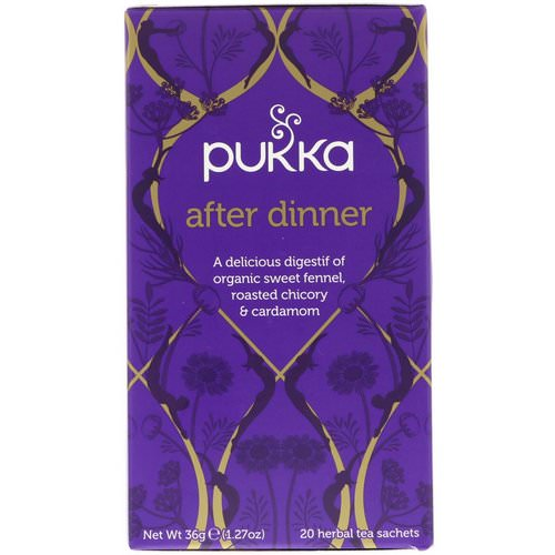 Pukka Herbs, After Dinner, 20 Herbal Tea Sachets, 1.27 oz (36 g) Review