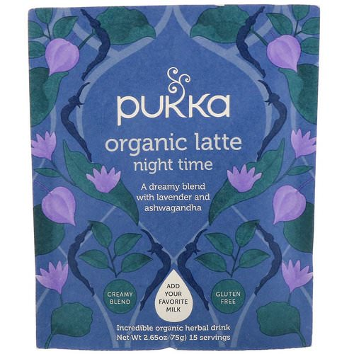 Pukka Herbs, Night Time Organic Latte, Caffeine Free, 2.65 oz (75 g) Review