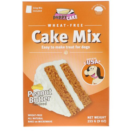 Puppy Cake, Wheat-Free Cake Mix, For Dogs, Peanut Butter Flavored, 9 oz (255 g) Review
