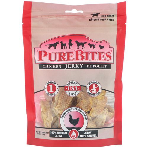 Pure Bites, Chicken Jerky, Dog Treats, Chicken Breast, 5.5 oz (156 g) Review