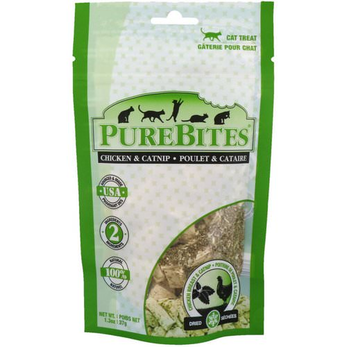 Pure Bites, Freeze Dried, Cat Treats, Chicken Breast & Catnip, 1.3 oz (37 g) Review