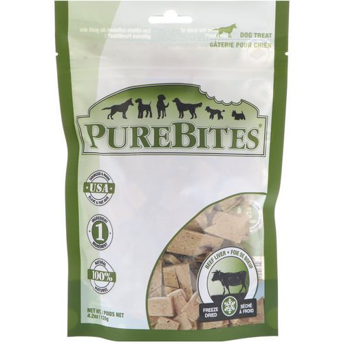 Pure Bites, Freeze Dried, Dog Treats, Beef Liver, 4.2 oz (120 g) Review