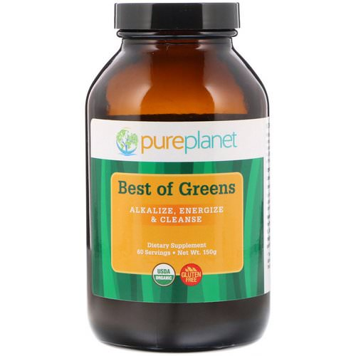 Pure Planet, Organic Best of Greens, 150 g Review