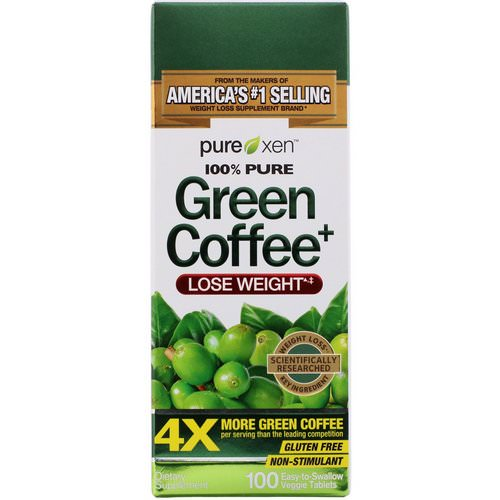 Purely Inspired, Green Coffee+, 100 Veggie Tablets Review