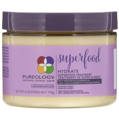 Pureology, Hydrate Superfood Treatment, 6 oz (170 g) Review