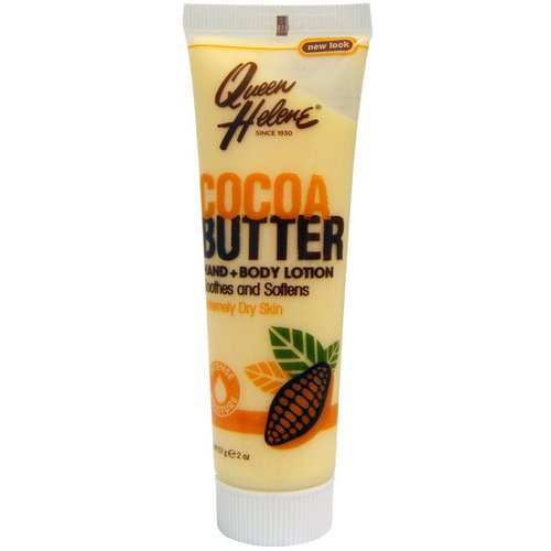 Queen Helene, Hand + Body Lotion, Cocoa Butter, 2 oz (57 g) Review