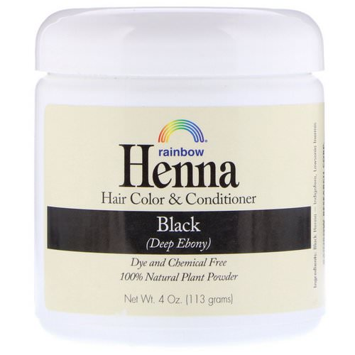 Rainbow Research, Henna, Hair Color & Conditioner, Black, 4 oz (113 g) Review