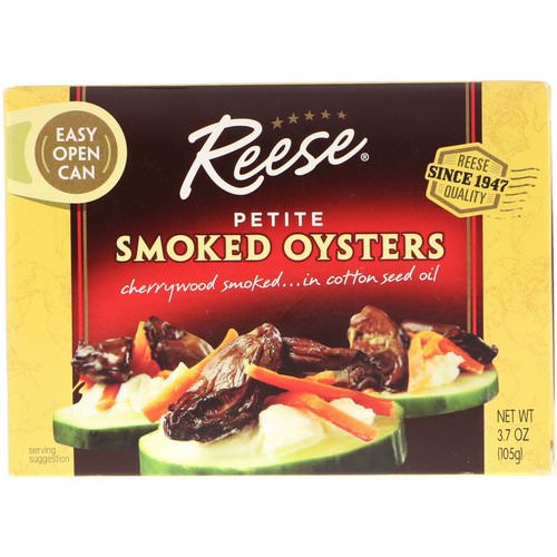 Reese, Petite Smoked Oysters, 3.7 oz (105 g) Review
