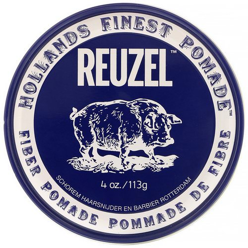 Reuzel, Fiber Pomade, Water Soluble, Heavy Hold, 4 oz (113 g) Review