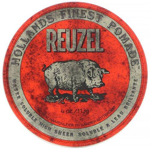 Reuzel, Red Pomade, Water Soluble, Medium Hold, 4 oz (113 g) Review