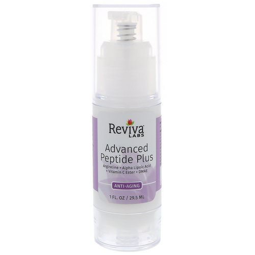 Reviva Labs, Advanced Peptide Plus, Anti Aging, 1 fl oz (29.5 ml) Review