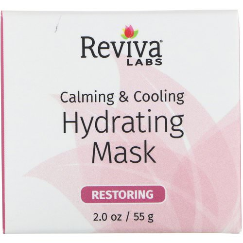 Reviva Labs, Calming & Cooling, Hydrating Mask, 2.0 oz (55 g) Review