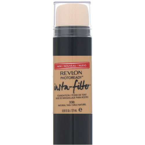 Revlon, PhotoReady, Insta-Filter Foundation, 330 Natural Tan, 0.91 fl oz (27 ml) Review