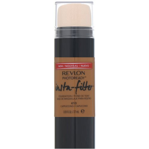 Revlon, PhotoReady, Insta-Filter Foundation, 410 Cappuccino, .91 fl oz (27 ml) Review