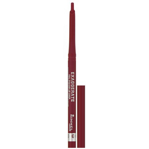 Rimmel London, Exaggerate Full Color Lip Liner, 024 Red Diva, .008 oz (.25 g) Review