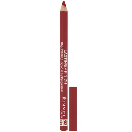 Rimmel London, Lasting Finish, 1000 Kisses Stay On Lip Contouring Pencil, 021 Red Dynamite, .04 oz (1.2 g) Review