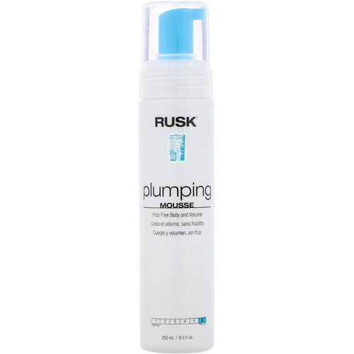 Rusk, Plumping, Mousse, 8.5 fl oz (250 ml) Review