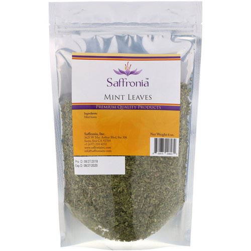 Saffronia, Mint Leaves, 6 oz Review